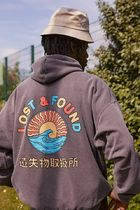 Urban Outfitters(アーバンアウトフィッターズ) パーカー・フーディ 【Urban Outfitters】Lost & Found グラフィック フーディ