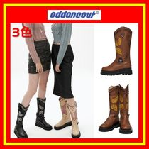 [ODD ONE OUT] BUTTERFLY WESTERN BOOTS/3色/追跡付