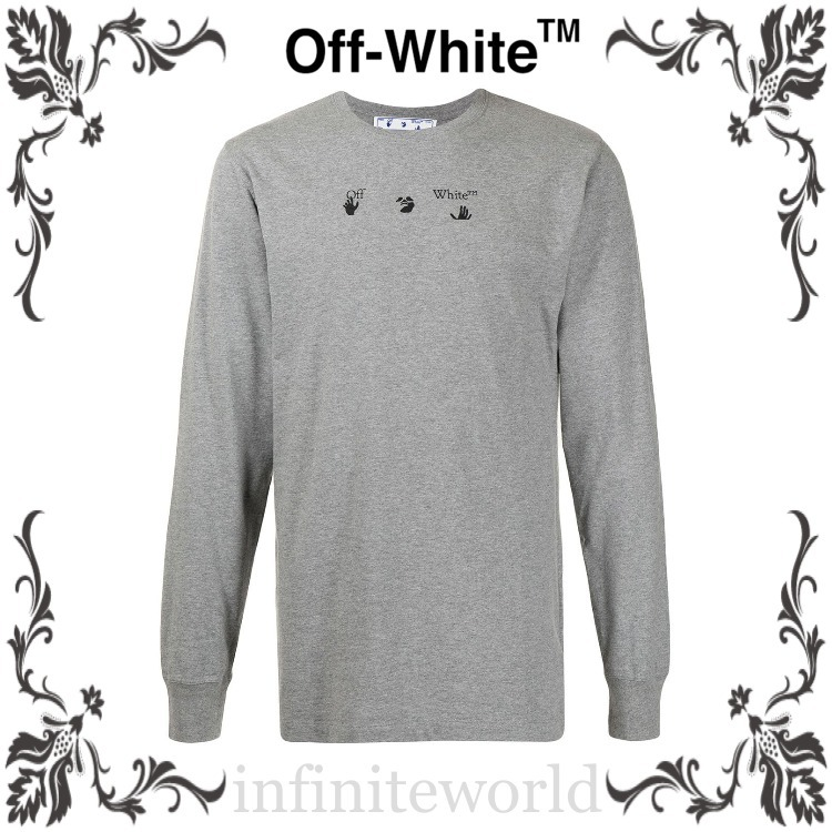 OFF-WHITE ◆Marker Arrows Tシャツ (Off-White/Tシャツ・カットソー) OMAB001S21JER0060845
