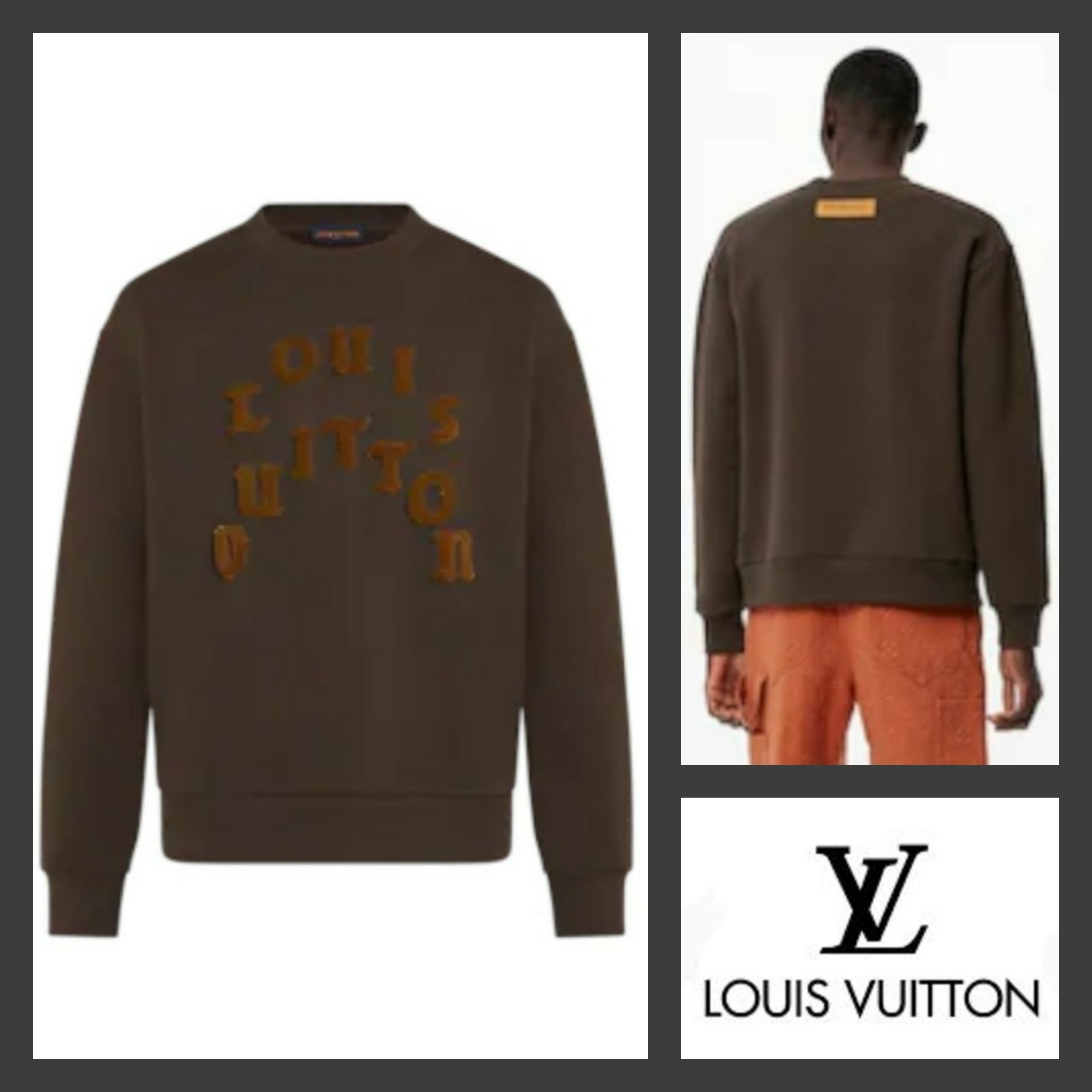 21FW★LOUIS VUITTON★ タフタージュクルーネック 1A977H (Louis Vuitton/Tシャツ・カットソー) 1A977H 1A977I 1A977J 1A977K  1A977L 1A977M 1A977N 1A977O