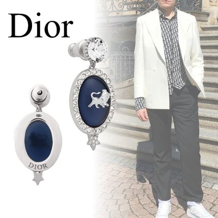 【DIOR】21AW DIOR AND PETER DOIG ピアス ライオンモチーフ片耳