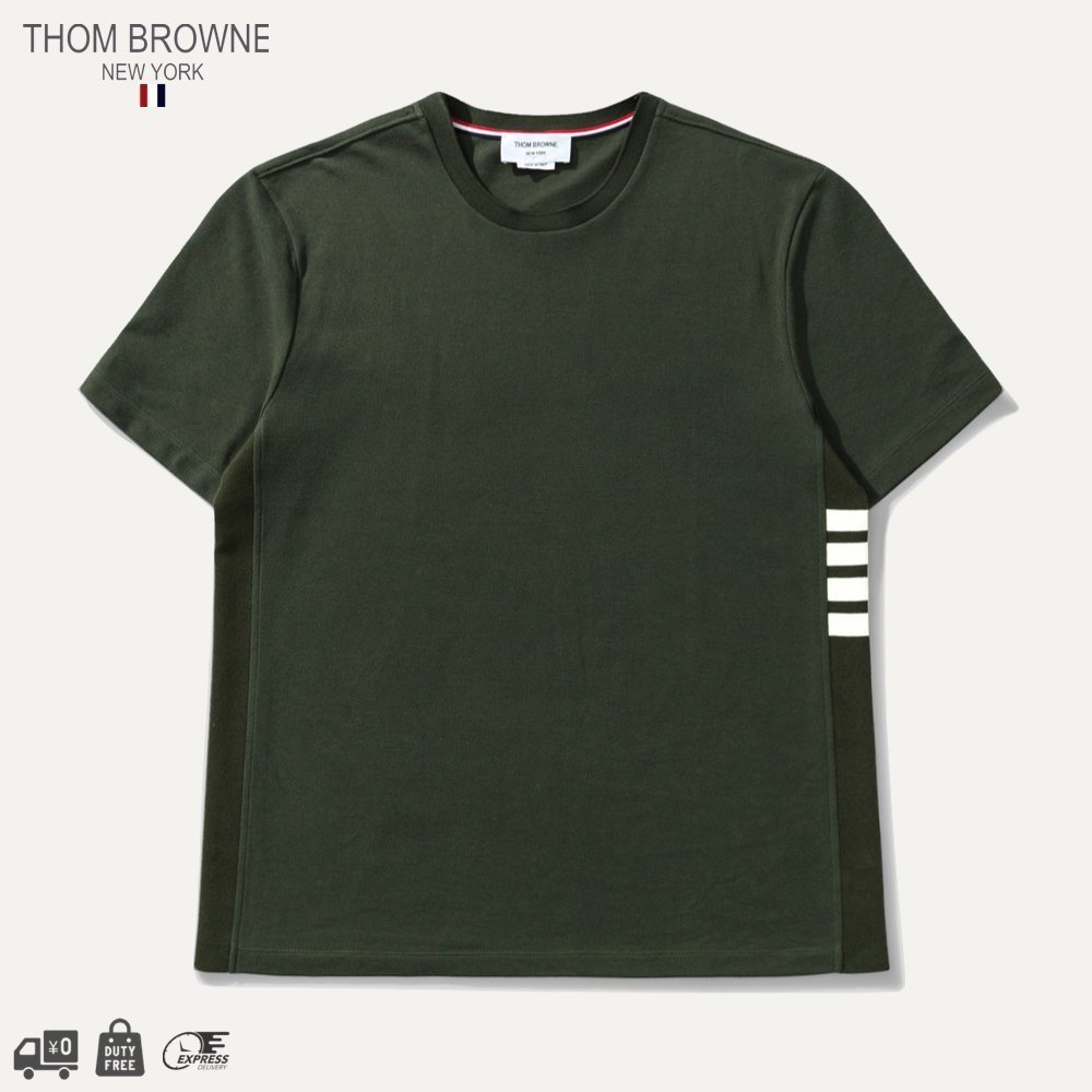 THOM BROWNE - CLASSIC T-SHIRT 関送込・国内発 (THOM BROWNE/Tシャツ・カットソー) 71816011