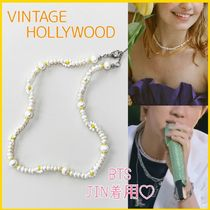 BTS JIN着用!★VINTAGE HOLLYWOOD★ Daisy パールネックレス