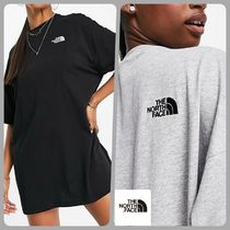 THE NORTH FACE* ロゴ Tシャツワンピ/送料込