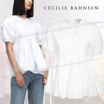 「SALE★21SS」★CECILIE BAHNSEN★ミエ パネル コットン シャツ