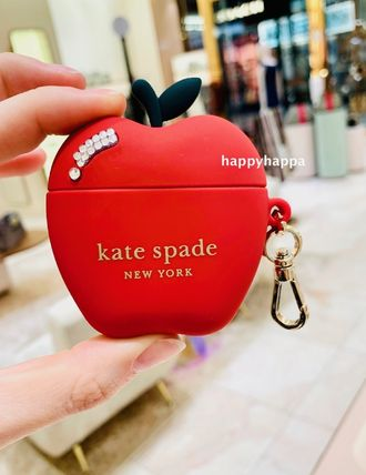 【kate spade】AirPods case*NYC apple