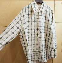 """""""COS"""" PRINTED SILK BLOUSE OFFWHITE/GREEN"""