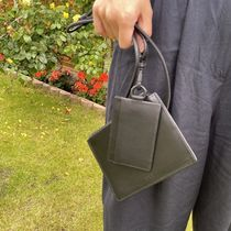 """COS(コス) カードケース・名刺入れ """"COS MEN"""" LEATHER LANYARD POUCH BLACK"""