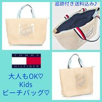 Tommy Hilfiger(トミーヒルフィガー) 子供用トート・レッスンバッグ ◆TOMMY HILFIGER◆日本未入荷!大人もOK!★キッズ★ビーチバッグ