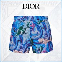 【DIOR】Oceans掲載☆ DIOR AND KENNY SCHARF スイムショーツ