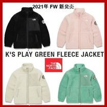 [THE NORTH FACE] K'S PLAY GREEN FLEECE JACKET