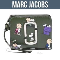 PEANUTS X MARC JACOBS THE SNAPSHOT MINI COMPACT WALLET