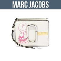 MARC JACOBS THE SNAPSHOT SNOOPY MINI COMPACT WALLET