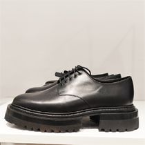 """""""COS"""" CHUNKY DERBY SHOES BLACK"""