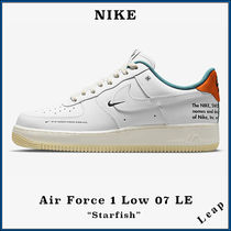 """【NIKE】エアフォース 1 Air Force 1 Low 07 LE """"Starfish"""""""