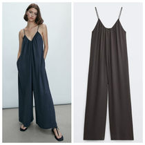 Massimo Dutti【NEW】LYOCELL FLOWING JUMPSUIT
