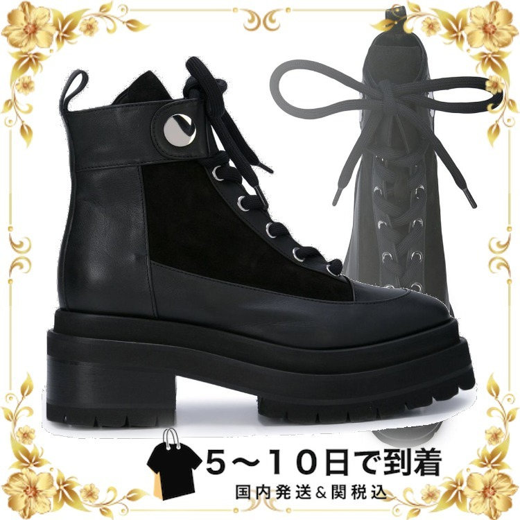 ☆sale☆Penny アンクルブーツ (Pierre Hardy/シューズ・サンダルその他) RE04PENNYANKLEBOOT40MMCALFSUEDECALFBLACK