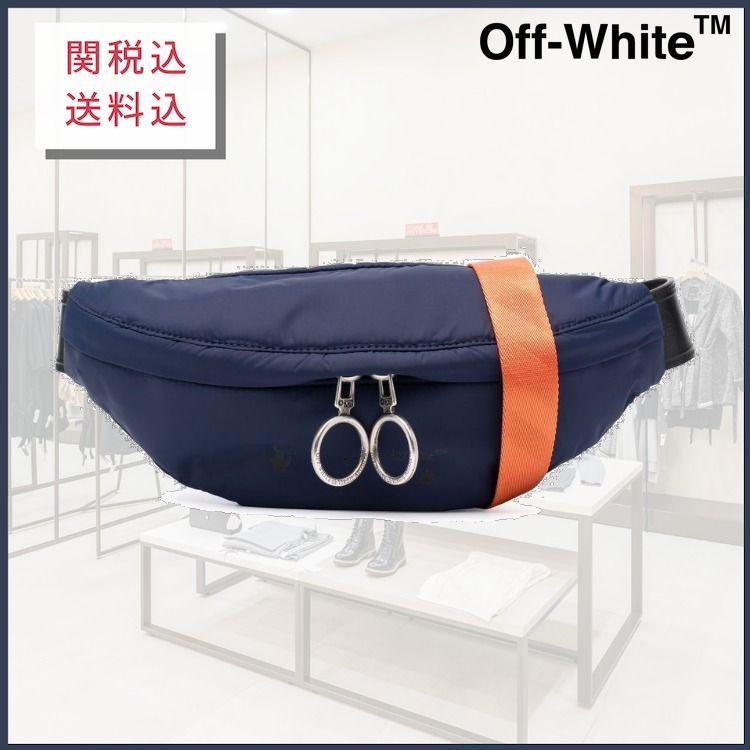 【21AW】OFF-WHITE|ロゴ ベルトバッグ (Off-White/バッグ・カバンその他) OMNO018F21FAB0014500