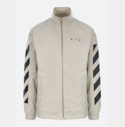 OFF WHITE DIAGONALSナイロンジャケット☆関税込国内発送