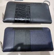 TOD'S(トッズ) 長財布 VIPセール【TODS LEATHER BICOLOR ZIP ROUND WALLET】