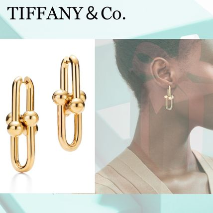 Tiffany&Co★Link Earrings リンクピアス(L) 18K gold*国内完売*