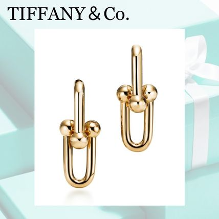 Tiffany&Co★Link Earrings リンクピアス(S) 18K gold*国内完売*