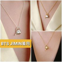 BTSジミン着用★FI,ORE★spin balloon heart necklaceネックレス