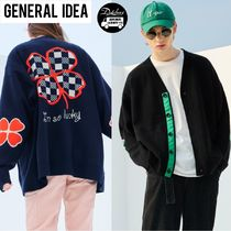 GENERAL IDEA lucky clover knit cardigan AB697