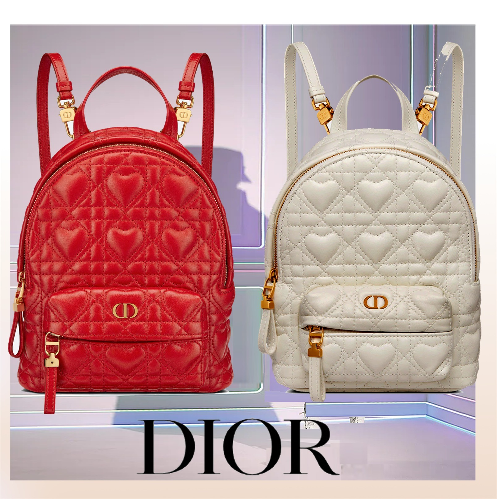 21-22AW新作【すぐ届く国内発送】Dior BACKPACK ミニバッグ (Dior/バックパック・リュック) M9222UNGH_M030  M9222UNGH_M35R