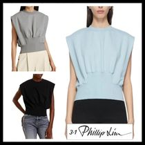 ★21SS 新作【3.1 Phillip Lim】French Terry Shirred Top