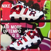 NIKE Air More Uptempo GS モアテン 大人もOK 追跡送料関税込み