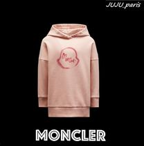 Moncler★2021AW★ビックロゴ入りワンピース★4〜6Y★関送込