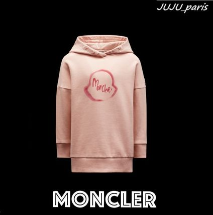 Moncler★2021AW★ビックロゴ入りワンピース★4~6Y★関送込