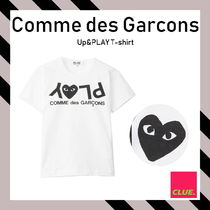 PLAY COMME des GARCONS(プレイコムデギャルソン) Tシャツ・カットソー COMME DES GARCONS PLAY★Up&PLAY プリントロゴ コットンTシャツ