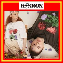 [RONRON] CARNATION OVER FIT T-SHIRT/2色/兼用/追跡付