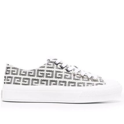 【GIVENCHY】 4G JACQUARD CITY SNEAKERS
