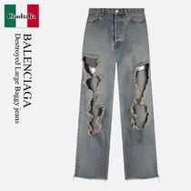 Balenciaga Destroyed Large Baggy jeans