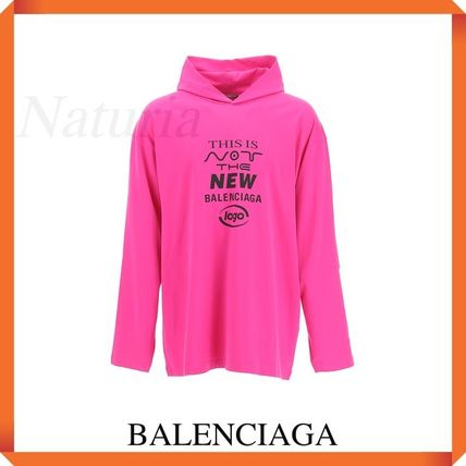 Balenciaga 'this Is Not' Unifit Hooded T-shirt
