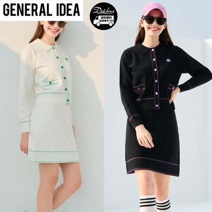 GENERAL IDEA Lucky Knit Tweed Set AB718