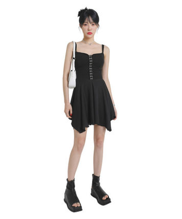 [our] Hook Flare Mini One Piece (2color)