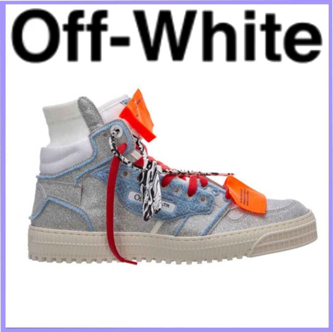 Off-white high top trainers sneakers 3.0 off court (Off-White/スニーカー) OMIA065S21MAT0017245
