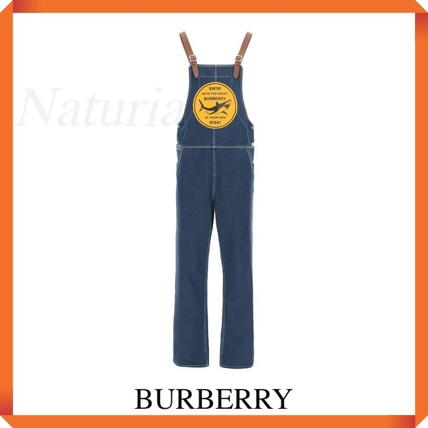 Burberry Overall With Print (Burberry/デニム・ジーパン) 4567465 A1231