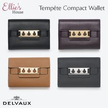 DELVAUX(デルヴォー) 折りたたみ財布 DELVAUX☆ベルギー直営店買付★Tempete Compact Wallet☆財布