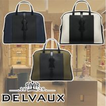 DELVAUX(デルヴォー) ボストンバッグ シンプル☆DELVAUX☆Magritte D-Offマグリットバッグ 全3色