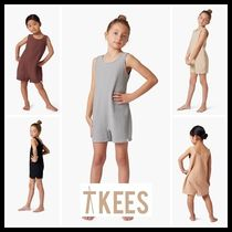 TKEES(ティキーズ) キッズワンピース・オールインワン ★TKEES★ Short Playsuit Kids キッズ ロンパース コンビネゾン