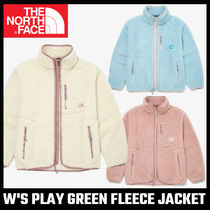 【THE NORTH FACE】W'S PLAY GREEN FLEECE JACKET フリース