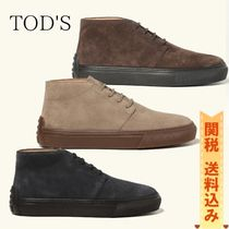 TOD'S(トッズ) ブーツ 【TODS】スエード デザートブーツ
