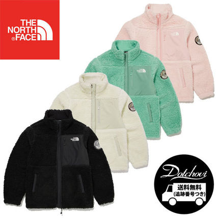 THE NORTH FACE(ザノースフェイス) キッズアウター THE NORTH FACE K'S PLAY GREEN FLEECE JACKET MU2725