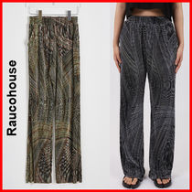Raucohouse(ラウコハウス)★ CurvedPpleated Boot- Cut Pants