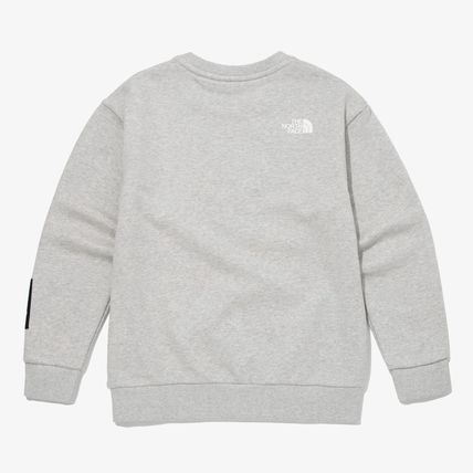 THE NORTH FACE キッズ用トップス THE NORTH FACE K'S ESSENTIAL SWEATSHIRTS MU2737(8)
